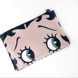 Betty Boop X Ipsy cosmetic toiletry case/bag